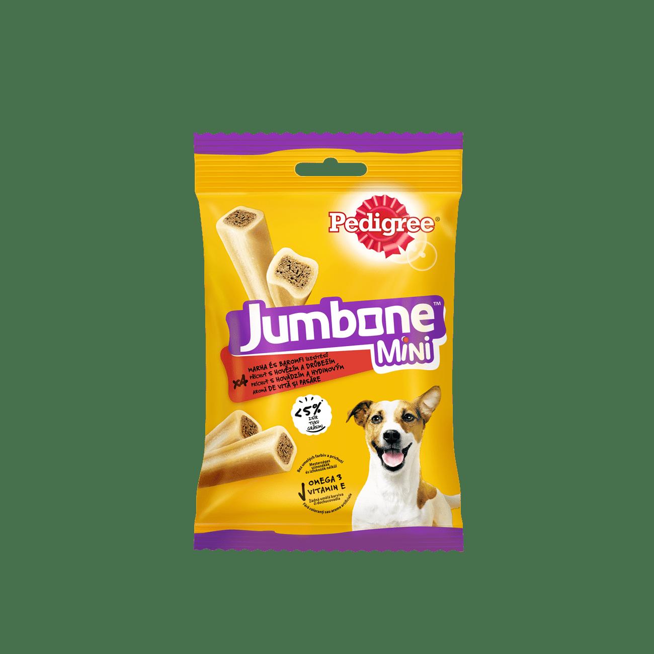 PEDIGREE® Jumbone™ Mini лакомая кость с говядиной и птицей, лакомство