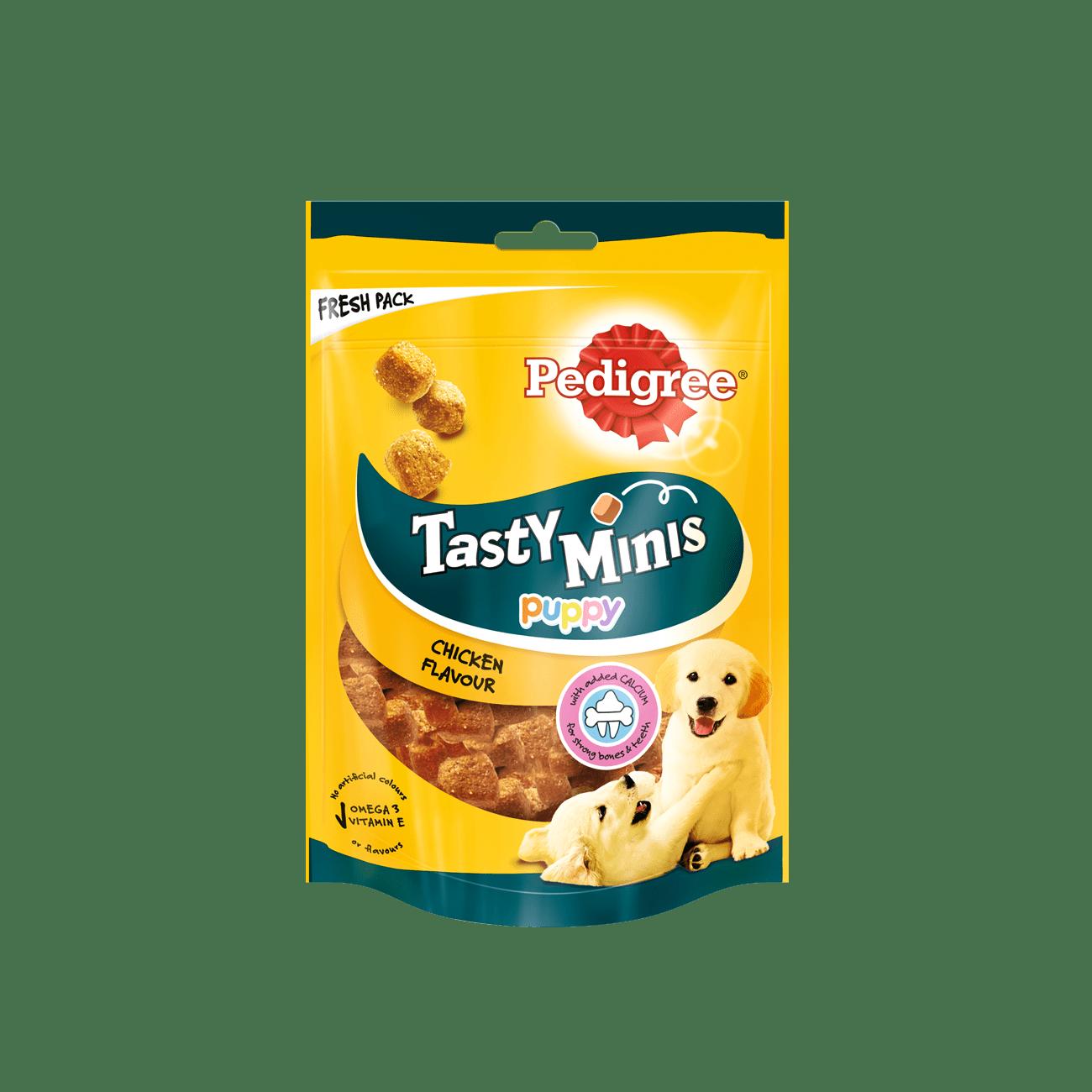 PEDIGREE® Tasty Minis™ с курицей, лакомство для щенков всех пород